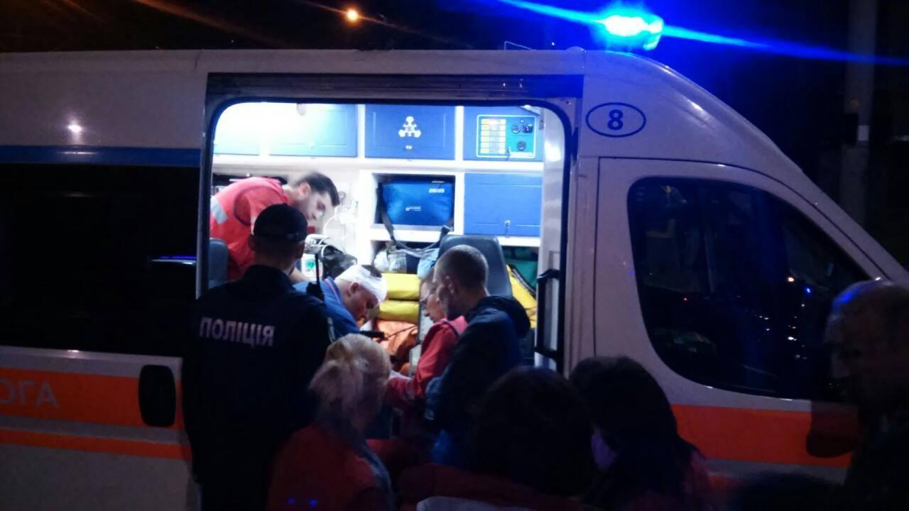 У Вінниці працівник поліції скоїв ДТП. Розпочали службове розслідування (Фото)