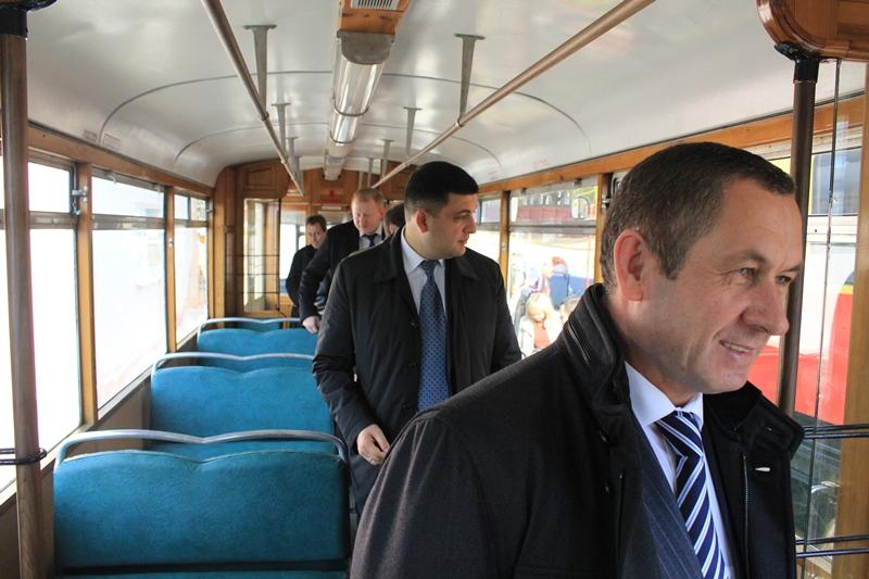 У Вінниці відкрили музей трамваїв (Фото)