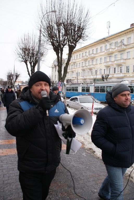Активісти пройшлися Вінницею із плакатами