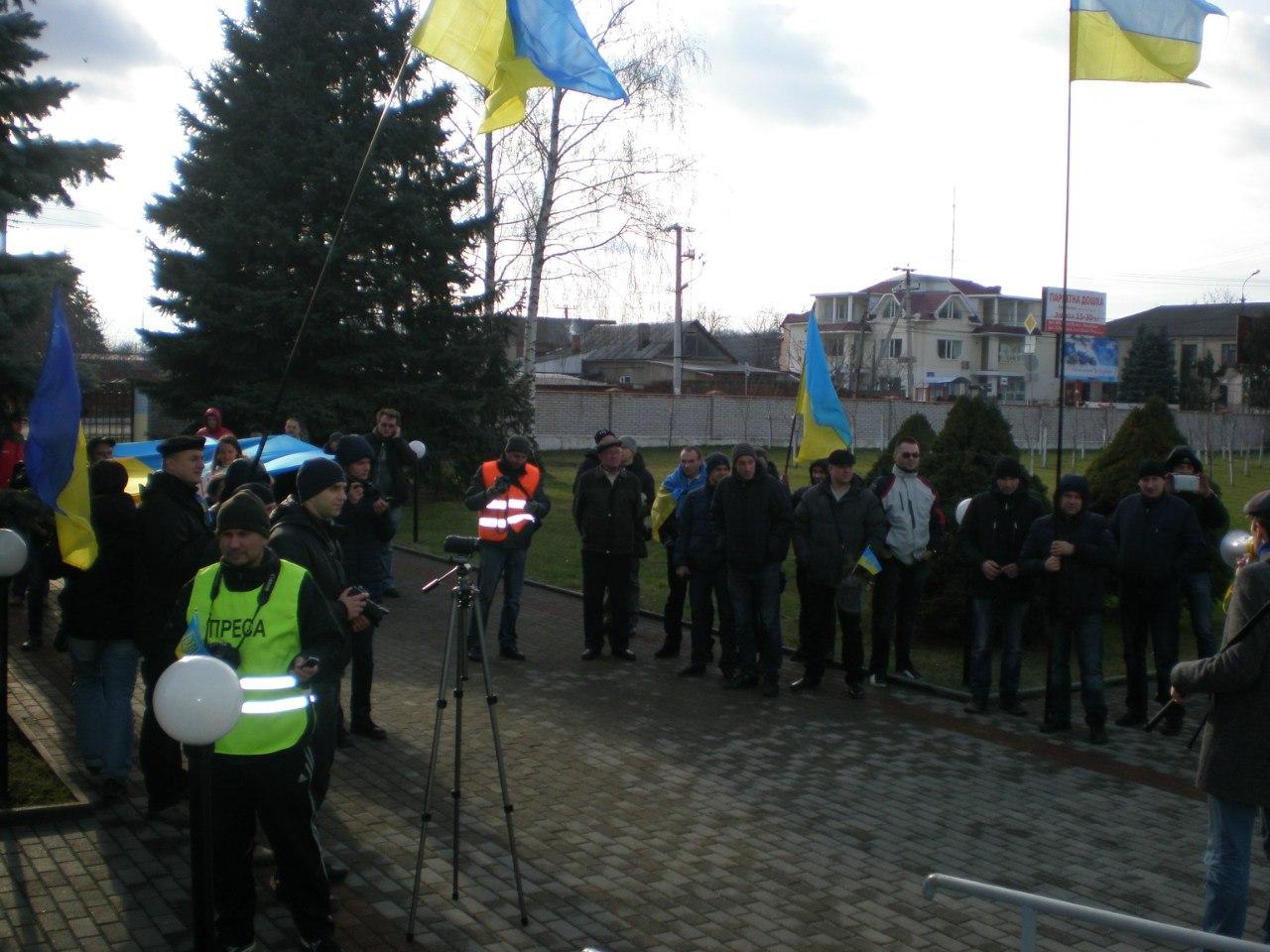 Автомайдан у Вінниці (Фото)