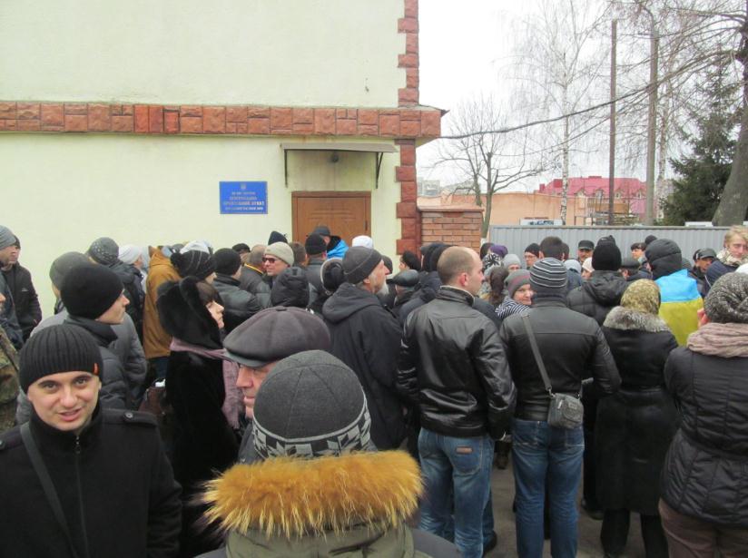 Що побачили активісти на території військової частини внутрішніх військ у Вінниці?