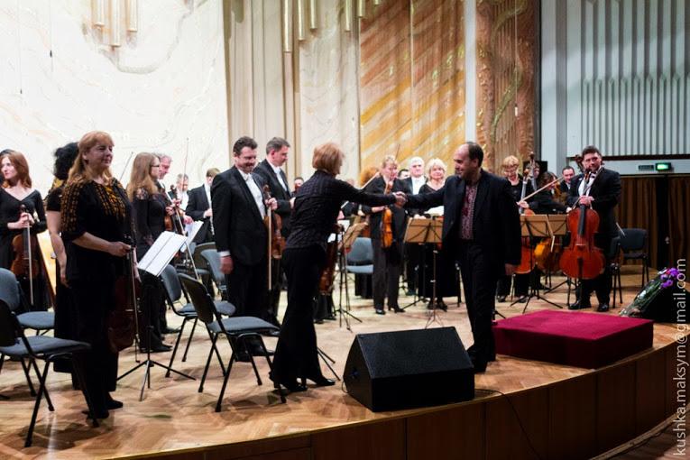 Оперна прима Вікторії Лук'янець порадувала вінничан своїм талантом (Фото)