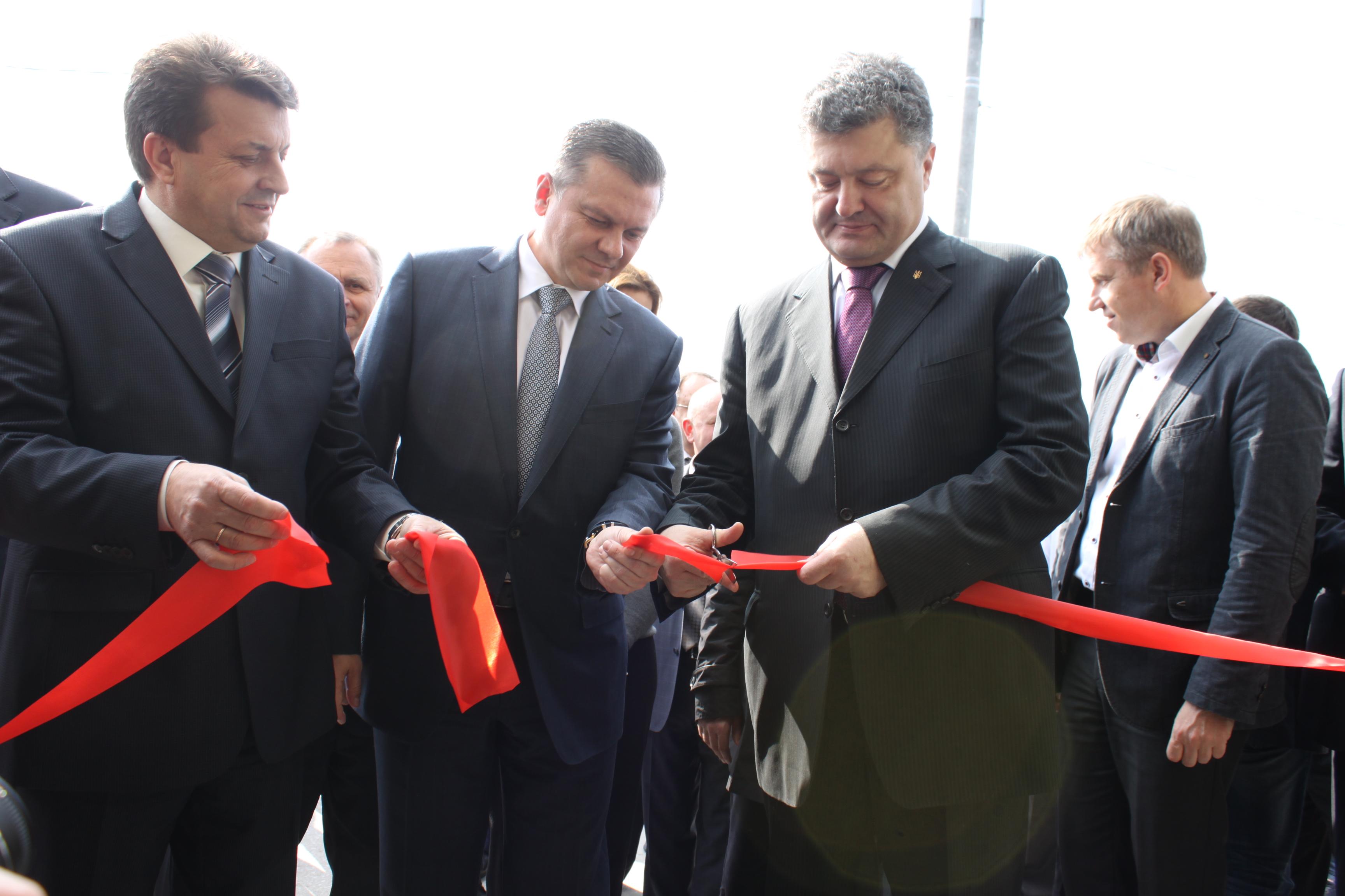 У Вінниці відкрито молоко-консервний комбінат з європейськими стандартами переробки сировини