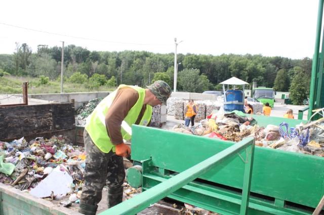 Анатолій Олійник відвідав Стадницьку сміттєсортувальну станцію