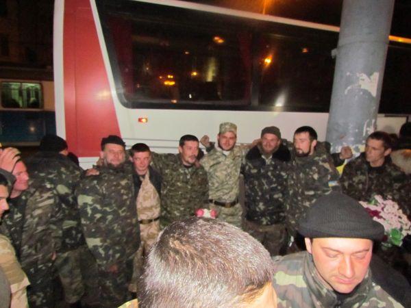 До міста повернулися бійці батальйону територіальної оборони