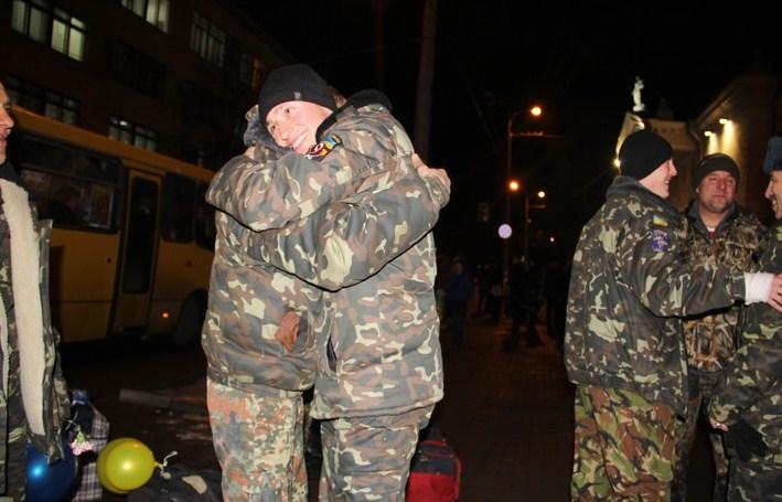 До Вінниці на відпочинок повернулося 38 бійців колишнього батальйону