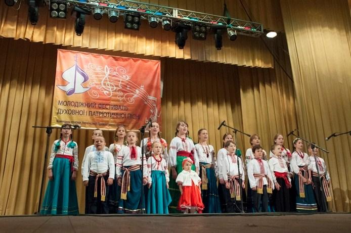 Перший молодіжний фестиваль духовної та патріотичної пісні відбувся у місті Вінниці