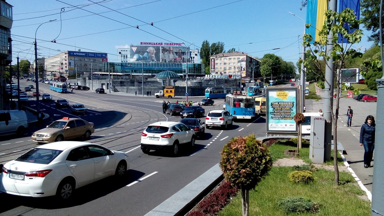 ДТП: в центрі Вінниці не розминулися два