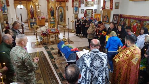 На Вінниччині поховали айдарівця, тіло якого вдалося опізнати завдяки недопалку (Фото)