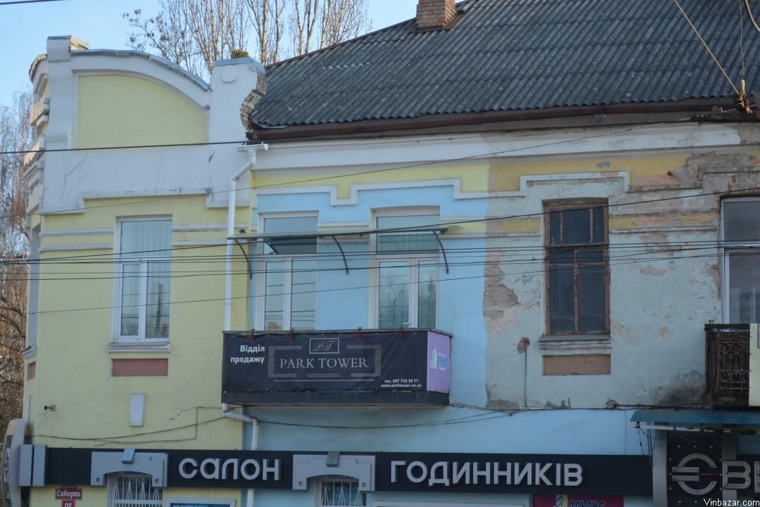 Недобудови та облізла штукатурка зустрінуть туристів у Вінниці (Фото)