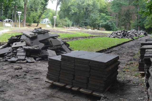 У Центральному парку розпочались роботи з облаштування