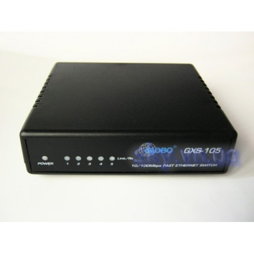 Коммутатор ethernet switch GLOBO GXS-105
