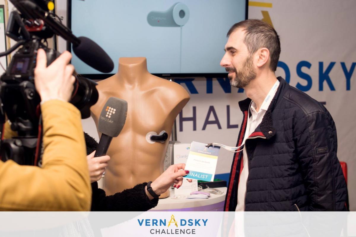 Победители конкурса Vernadsky Challenge, инициированного Максом Поляковым
