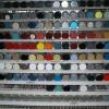 Заправка номерных красок в аэрозольные балоны