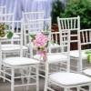 Аренда стульев Chiavari (Кьявари) белые, пластиков