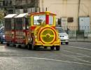 Туристів у Вінниці кататимуть на електропотязі та велорікші