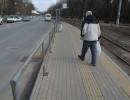 Новозбудовані зупинки на Хмельницькому шосе не витримали випробування зимою (Фото)
