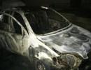 На Вінниччині згорів автомобіль (Фото)