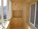Оптимальный вариант внутренней обшивки балкона