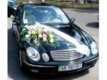 Свадебный  Mercedes W 211 Black