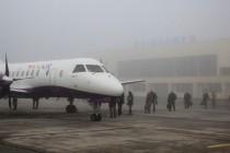 Перший рейс нового перевізника з вінницького аеропорту (Фоторепортаж)