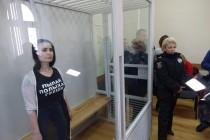 У Вінниці обрали запобіжний захід активістці Femen, що спалила трамвай Roshen (Фото)