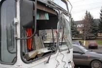 "Тролейбус протаранив ""маршрутку"" №17А"