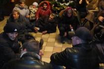 Люди збиралися ночувати та святкувати Новий рік в фонді держмайна, бо їм не підписали акти