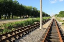 Продовжується будівництво трамвайної колії, яка повинна з`єднати Вишеньку з Барським шосе