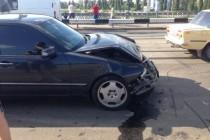 Одразу 4 машини потрапили у ДТП на Центральному мосту