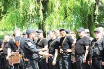 Вінницькі силовики в зоні дії АТО охороняють громадський порядок і контролюють пропускний режим на блок-постах