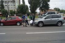 У Вінниці сталося ДТП. Зіштовхнулося відразу 4 авто