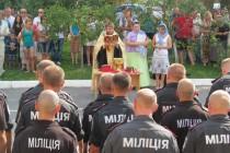 Вінницькі міліціонери поїхали зміняти колег, що зараз у зоні АТО (Фото+Відео)