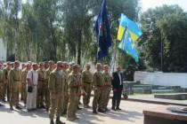 Вінницькі десантники відсвяткували День ВДВ разом із бійцями з зони АТО