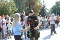 Вінницькі міліціонери повернулися з зони АТО (Фото+Відео)