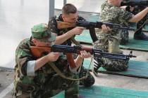 Зведений загін міліціонерів проходить посилену підготовку, аби захищати країну