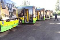 Вінницею курсуватиме 15 нових міських автобусів (Фото)