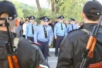 Чергова ротація. Ще 100 вінницьких міліціонерів поїхали у зону АТО змінити колег (Фото+Відео)