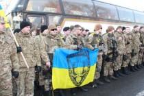Вінницькі міліціонери повернулися додому із зони АТО без втрат (Фото)