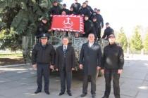 """Вінницьку міліцію """"підсилили"""" бронетехнікою (Фото+Відео)"""