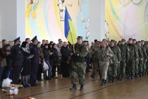 Вінницькі міліціонери поїхали на схід боротися з диверсійними групами (Фото+Відео)