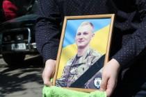 """На Вінниччині попрощалися із бійцем полку """"АЗОВ"""", який отримав смертельну травму під Широкіно (Фото)"""