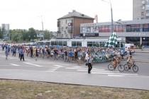 Центром Вінниці пройшли футбольні фанати за барабаном та димовими шашками (Фото+Відео)