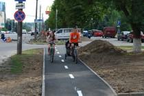 У Вінниці одну окрему велодорожку вже доробили, інша готова на 60% (Фото)