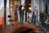 Іздрик у Вінниці презентував нову збірку поезій на сходах книгарні (Фото+Відео)