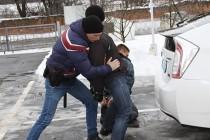 Тренування майбутніх вінницьких поліцейських (Фото)