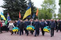 Річниця Чорнобильської катастрофи: вінничани згадали ліквідаторів та пройшли містом пам'ятною ходою (Фото)