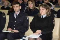 """У Вінниці поліцейські """"сіли за парти"""" (Фото)"""