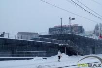 Вінницю накрив снігопад (Фото)