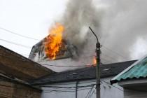 У Вінниці горять офісні приміщення (Фото+Відео)